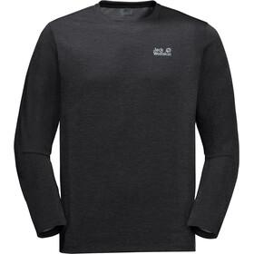 Jack Wolfskin Brand T-Shirt Homme, noir